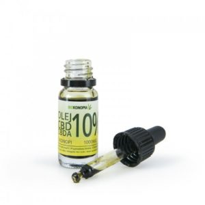BIOKONOPIA Olej z konopi 10% 1000mg CBD+CBDA 10ml