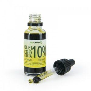 BIOKONOPIA Olej z konopi 10% 3000mg CBD+CBDA 30ml