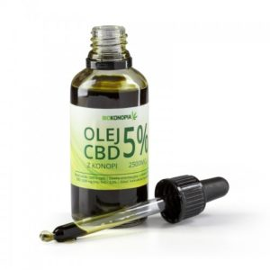 BIOKONOPIA Olej z konopi 5% 2500mg CBD 50ml