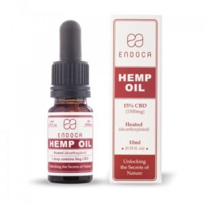 ENDOCA Olejek konopny 15% 1500mg CBD 10ml