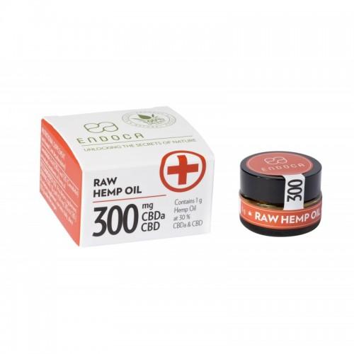 ENDOCA Pasta konopna Golden RAW 30% 300mg CBDa+CBD 1g
