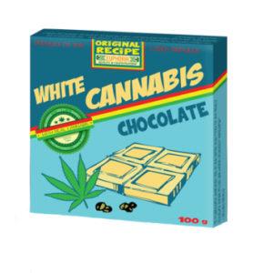 """EUPHORIA Biała czekolada """"Cannabis"""" 100g"""