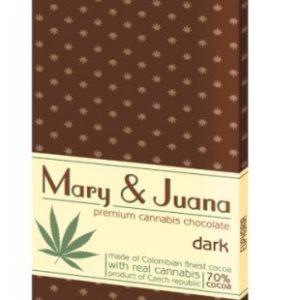 EUPHORIA Czekolada gorzka Mary&Juana 80g