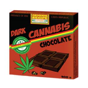 """EUPHORIA Gorzka czekolada """"Cannabis"""" 100g"""