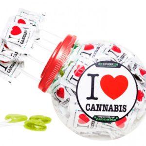 "EUPHORIA Lizaki konopne ""I Love Cannabis"""