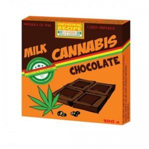 "EUPHORIA Mleczna czekolada ""Cannabis"" 100g"