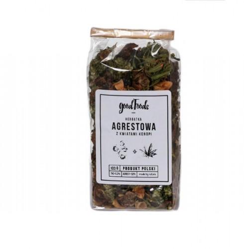 GOODFOODS Herbata Agrestowo-Konopna 100 g