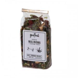 GOODFOODS Herbata Malinowo-Konopna 100 g