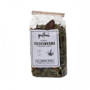 GOODFOODS Herbata Truskawkowo-Konopna 100 g