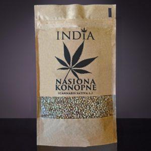 India - nasiona konopi