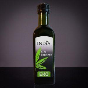 India - olej konopny EKO